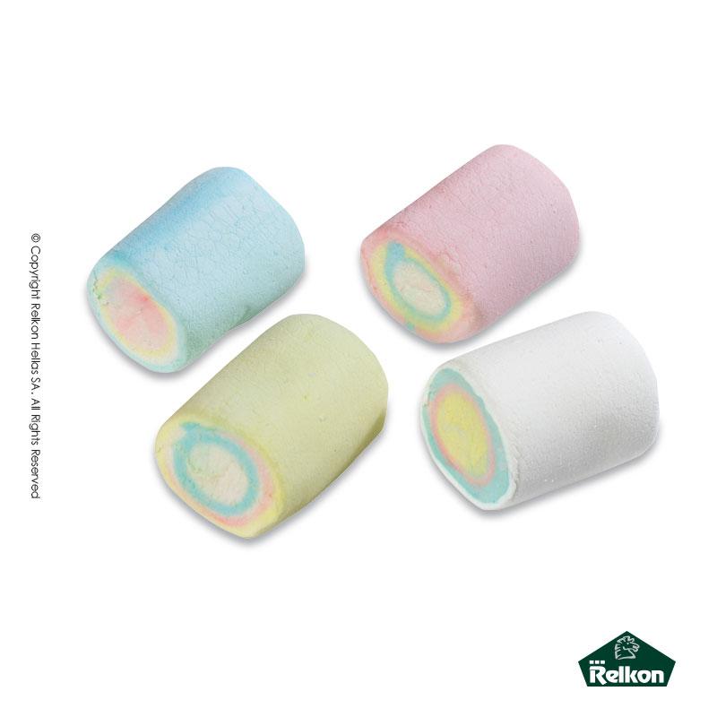 Marshmallow Κύλινδρος Πολύχρωμος