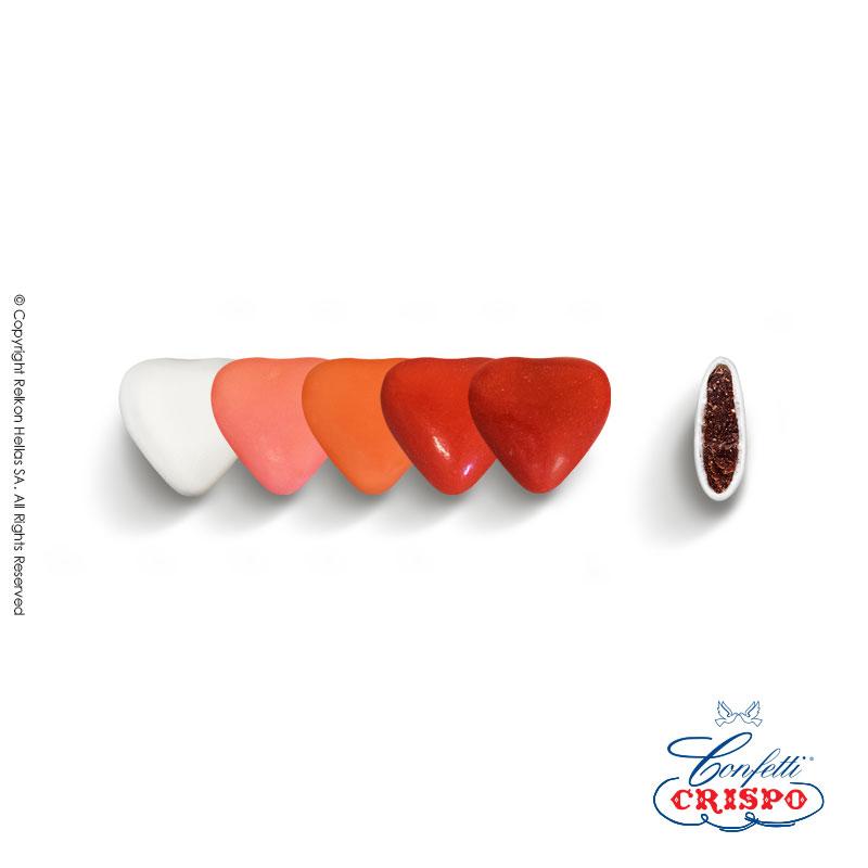 Mini Choco Καρδιές Red